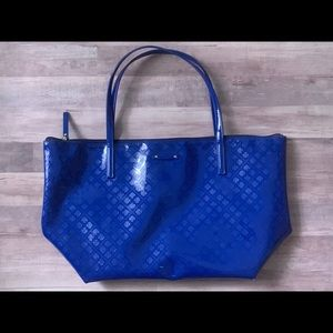 Kate Spade Glossy Cobalt Blue Tote